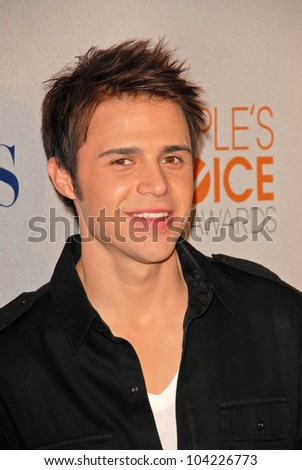 Kris Allen  at the 2010 People's Choice Awards Nomination Announcments, SLS Hotel,  Los Angeles, CA. 11-10-09