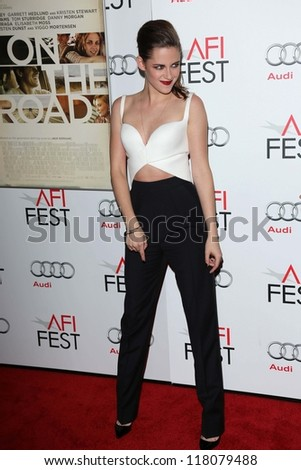 "Kristen Stewart at ""On The Road"" At AFI FEST 2012, Chinese Theater, Hollywood, CA 11-03-12"