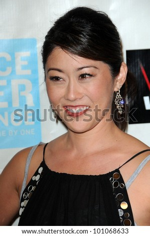 "Kristi Yamaguchi at the ""Peace Over Violence"" 39th Annual Humanitarian Awards, Beverly Hills Hotel, Beverly Hills, CA. 10-29-10"