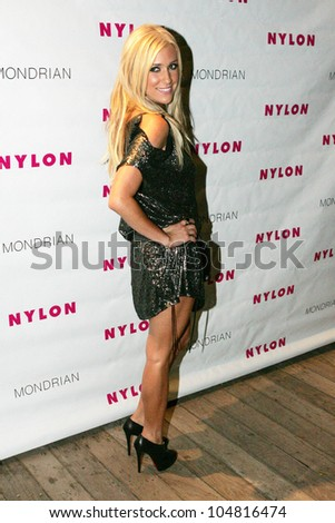 Kristin Cavallari at the Nylon Magazine TV Issue Party. Skybar, West Hollywood, CA. 08-24-09