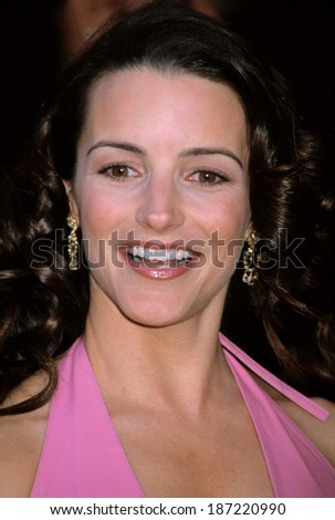 Kristin Davis at the Sex & the City premiere, NYC, 5/30/01