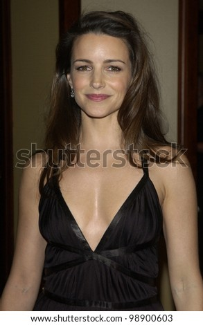 KRISTIN DAVIS at the 56th Annual Directors Guild Awards in Century City, Los Angeles, CA.  February 7, 2004