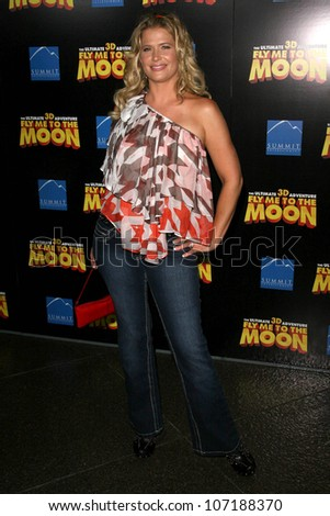 "Kristy Swanson  at the Los Angeles Premiere of ""Fly Me To The Moon"". DGA, Hollywood, CA. 08-03-08"