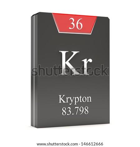 Krypton kr 36 periodic table stock illustration 146612666 shutterstock krypton kr 36 from periodic table urtaz Choice Image