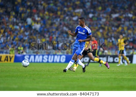 KUALA LUMPUR, July 21 : Chelsea's nathaniel chalobah in action during a preseason match agains Malaysia on July 21, 2011 in Kuala Lumpur, Malaysia. Chelsea won 1-0