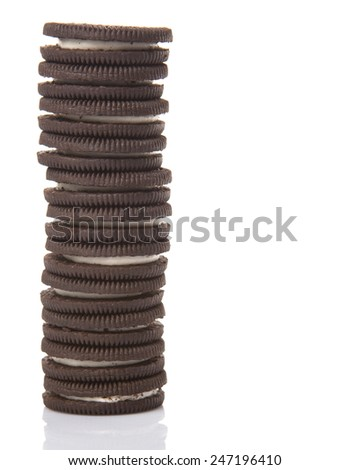 KUALA LUMPUR, MALAYSIA - JANUARY 26TH 2015. Oreo is a sandwich cookie with a sweet cream filling by Nabisco Division of Mondelez International and is the best selling cookie in the United States.