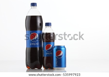 Kuala Lumpur, Malaysia 1st Sept 2016,Pepsi soft drink. Pepsi is a carbonated soft drink produced and manufactured by PepsiCo Inc. an American multinational food and beverage company.