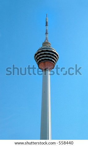 Kuala Lumpur tower is one of the tallest concrete towers in the world.