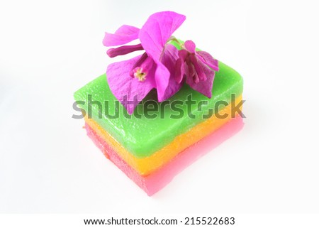 Kueh Lapis-Malay traditional cake