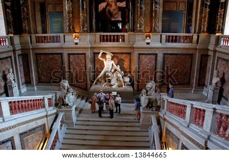 Kunsthistorisches Museum - European masterpieces galore in Vienna, Ausria - stock photo