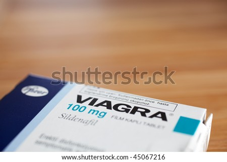 KUSADASI, TURKEY - JANUARY 20: Viagra packaging on a table on January 20, 2010 in Kusadasi, Turkey. Viagra was originally developed by Pfizer as an erectile dysfunction drug.