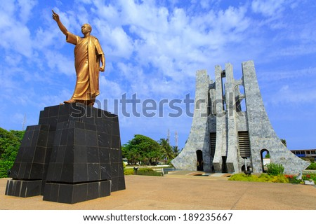 Kwame Nkrumah Memorial Park. Kwame Nkrumah Memorial Park (KNMP) is a National Park in, Accra, Ghana named after Osagyefo Dr. Kwame Nkrumah, the founding father of Ghana.