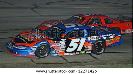 Kyle Busch at Madison International Speedway opener May 4, 2008