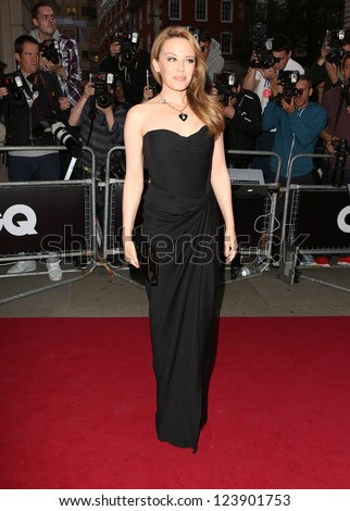 Kylie Minogue arriving for the 2012 GQ Men Of The Year Awards, Royal Opera House, London. 05/09/2012 Picture by: Henry Harris