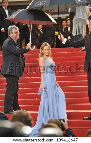 Kylie Minogue at the closing awards gala at the 65th Festival de Cannes. May 27, 2012  Cannes, France Picture: Paul Smith / Featureflash
