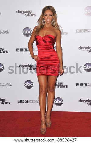 Kym Johnson at the 200th episode party for Dancing With The Stars at Boulevard 3 in Hollywood. November 1, 2010  Los Angeles, CA Picture: Paul Smith / Featureflash