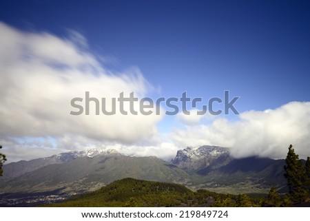la palmaisland - stock photo