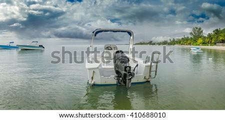 La Preneuse Mauritius Panorama - stock photo