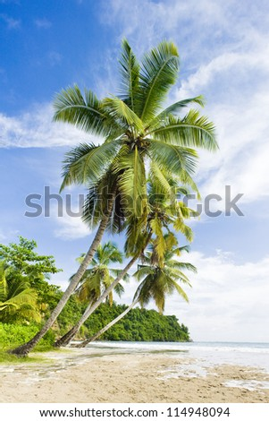 La Sagesse Bay, Grenada - stock photo