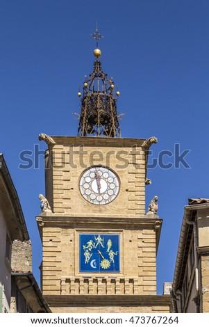 Salon de provence stock images royalty free images for Porte de l horloge salon de provence