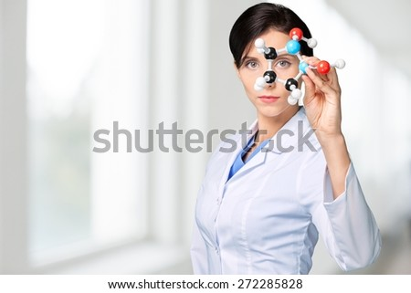 Labcoat, biotechnology, lab. - stock photo