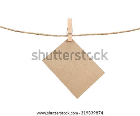 label isolated on white background. - stock photo