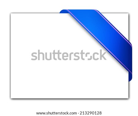 Labels and tags Isolated on a white background - stock photo