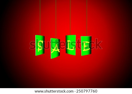 Labels. Sale Sign