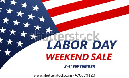 Labor Day Sale illustration