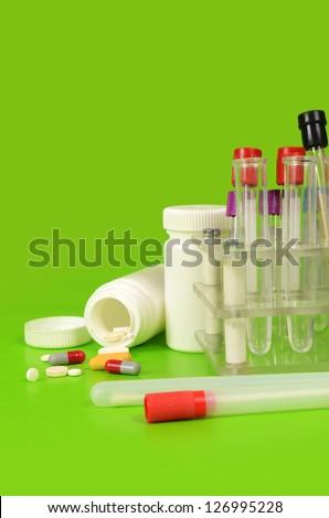 Laboratory instruments - stock photo
