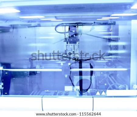 laboratory machine - stock photo