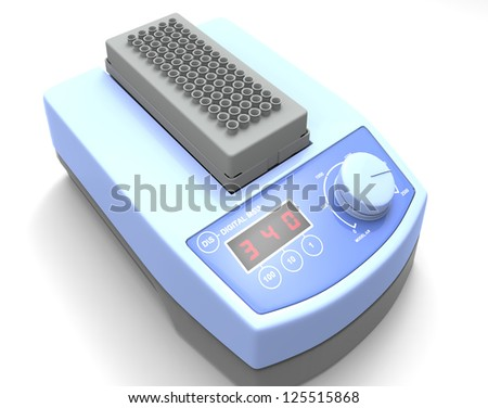 Laboratory scale - stock photo