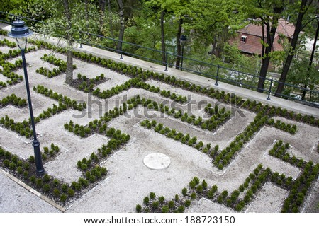 Labyrinth in Lillafured, Hungary