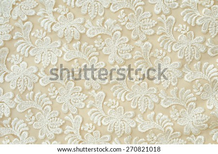 lace fabric textures - stock photo