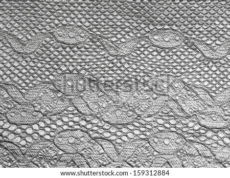 lace looking metallic background