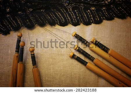 lace-making process