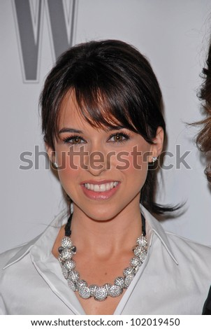 Lacey Chabert at the Step Up 7th Annual Inspiration Awards, Beverly Hilton, Beverly Hills, CA. 05-14-10