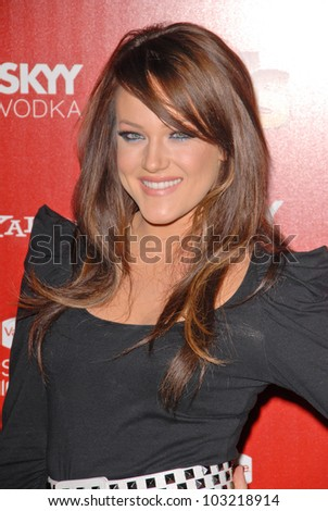 Lacey Schwimmer  at the Us Weekly Hot Hollywood Style 2009 party, Voyeur, West Hollywood, CA. 11-18-09