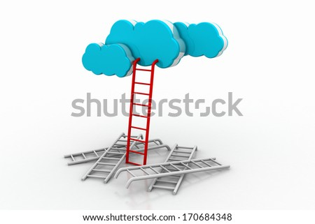 ladder and sky, a competition concept