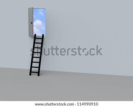 ladder into the sky