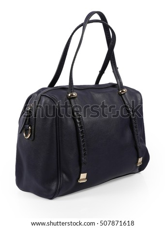 Ladies Hand Bag - Black