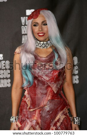Lady GaGa at the 2010 MTV Video Music Awards Press Room, Nokia Theatre L.A. LIVE, Los Angeles, CA. 08-12-10