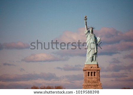 Lady Liberty in Her Glory
