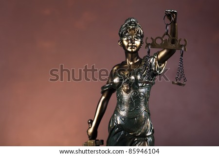 Lady of justice - stock photo
