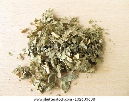 Lady's mantle, Alchemillae herba - stock photo