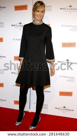 Lady Victoria Harvey attends the Scandinavian Style Mansion Party held at the Private Residence in Bel Air, California, United States on December 1, 2007.  - stock photo