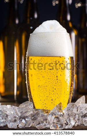 Lager with big beer foam vol. 2