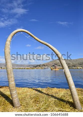 Lago Titicaca. Puno. Peru - stock photo