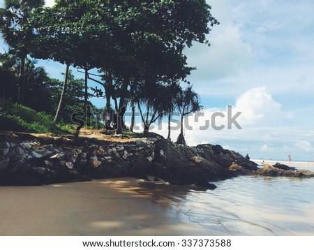 Laguna beach - stock photo