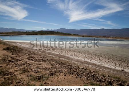 Laguna de Sayula - stock photo